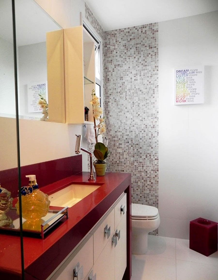 Mostrar Fotos De Banheiros Pequenos : Decora??o de banheiro ideias para voc? aplicar em sua casa